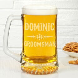 Personalized Beer Mugs For Groomsmen - Raise..