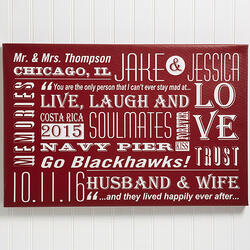 Our Life Together Wall Art