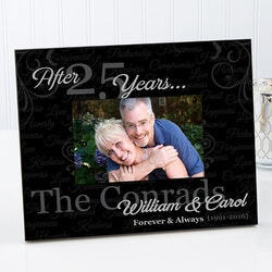 3rd Anniversary Gifts:Personalized Anniversary Picture Frames -..