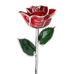 Gifts for Girlfriend:Personalized Red Rose