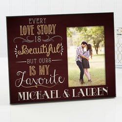 Personalized Picture Frame Romantic - Our..