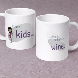 This Is Definitely Wine Mug