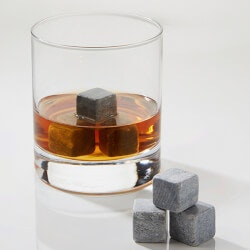 Whiskey Stones Set - Glacier Rocks Ice Cubes