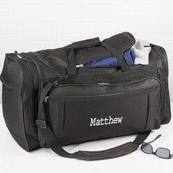 Christmas Gifts for Grandfather:Personalized Duffel Bag