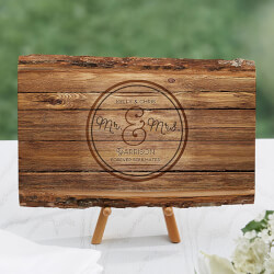 Circle of Love Rustic Basswood Plank