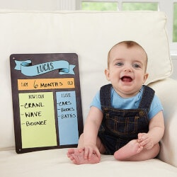 Personalized Gifts (Under $10):Personalized Baby Dry Erase Sign - Baby..