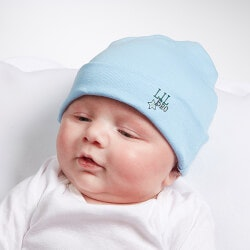 Personalized Gifts (Under $10):Personalized  Big/Mid/Lil Sibling Baby Hat