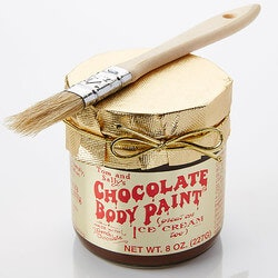 Romantic Gifts:Chocolate Body Paint