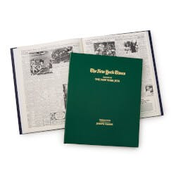 New York Times Custom Football Book