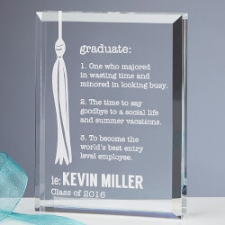 Personalized Graduation Keepsake -..