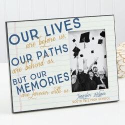 High School Graduation Gifts:Personalized Graduation Frame - Memories Are..