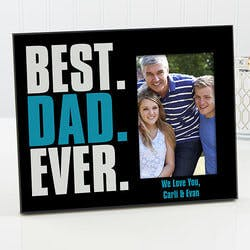 Personalized Fathers Day Picture Frame -..