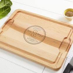 Personalized Christmas Gifts for Family:Circle Of Love Cutting Board