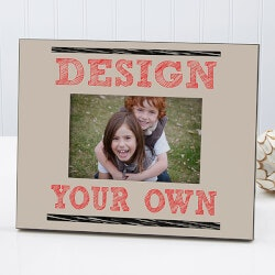 Birthday Gifts for 4 Year Old:Design Your Own Personalized Picture Frame -..