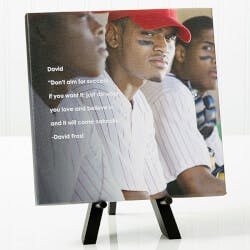Personalized Graduation Photo Canvas Print -..
