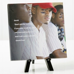 Personalized Gifts for Teenage Boys:Personalized Graduation Photo Canvas Print -..