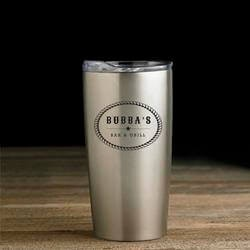Personalized Stainless Steel Texas Tumbler..