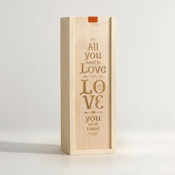 All You Need Is Love - Wine Box