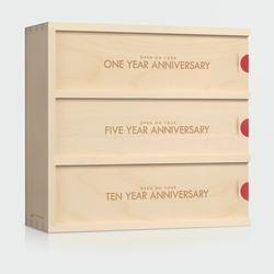 Classic Trio - Anniversary Wine Box