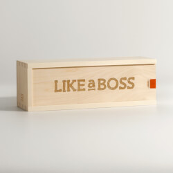 Like A Boss Wine Box