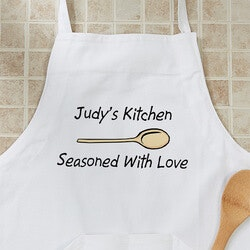 Christmas Gifts for Mom Under $50:Custom Personalized Aprons