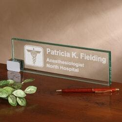 Personalized Desk Nameplate - Medical..