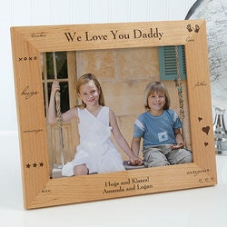 Personalized Gifts for Father In Law:Personalized 8x10 Picture Frames For Dads -..