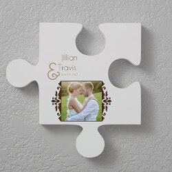 Personalized Gifts:Personalized Romantic Photo Wall Puzzle -..