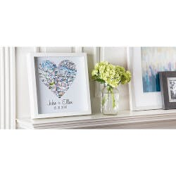 Personalized Shadow Box Art
