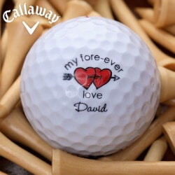 Valentines Day Gifts:Personalized Callaway Golf Ball Sets -..