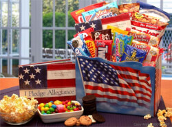 America the Beautiful Snack Gift Box
