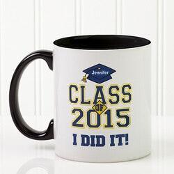 Personalized Gifts for Teenage Boys:Custom Graduation Ceramic Coffee Mug -..