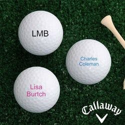 Personalized Callaway Golf Ball Set -..