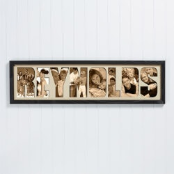 Grandparents Day Gifts:Personalized Name Photo Collage Frame