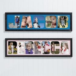 Photo Name Collage Frame