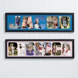 Birthday Gifts for 4 Year Old:Photo Name Collage Frame