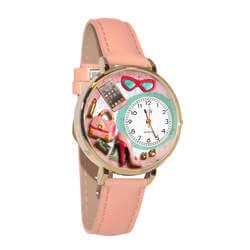 Shopper Mom Watch In Gold (Large)