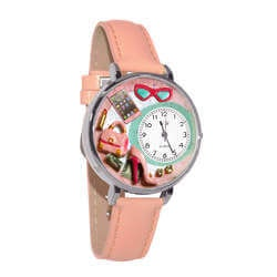 Shopper Mom Watch In Silver (Large)