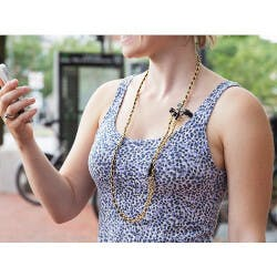 Tangle-Free Earbud Necklace