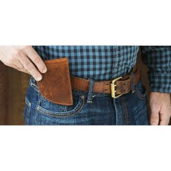 Rogue Industries: Leather Front Pocket Wallet
