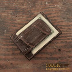Alligator Skin Money Clip