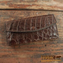 Valentines Day Gifts for Wife:Alligator Skin Handbag Clutch