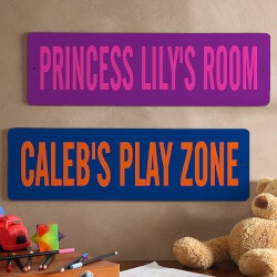 Birthday Gifts for 4 Year Old:All About Me Novelty Personalized Street Sign