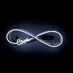 Neon Love Infinity Art