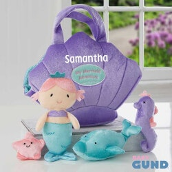 Birthday Gifts for 4 Year Old:Personalized Mermaid Playset