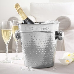 Personalized Gifts:Stainless Steel Personalized Ice Bucket