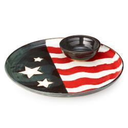 Americana Serving Platter