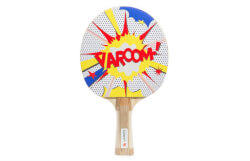 Cartoon Table Tennis Paddle Set