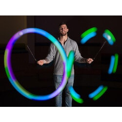 Birthday Gifts for 7 Year Old:LED Poi Balls