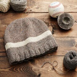 MLB Game-Used Baseball Beanie